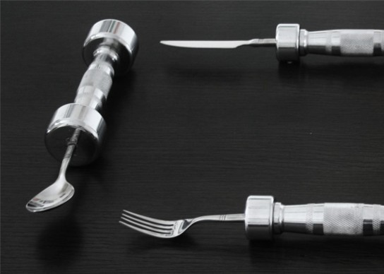 exercise cutlery