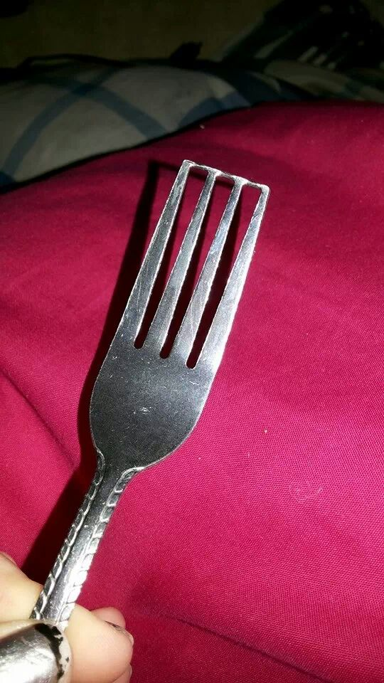 blocked fork