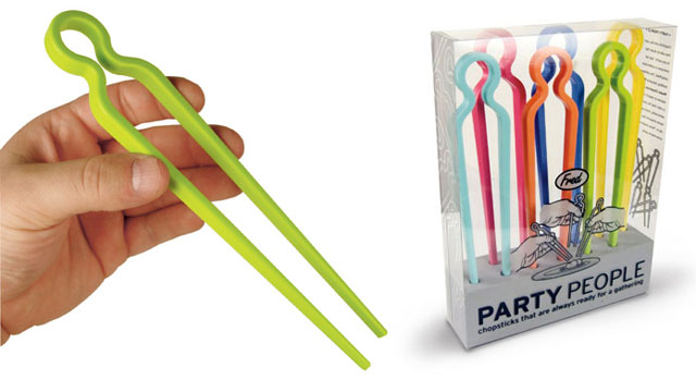 Fred Party People Chopsticks Utensils