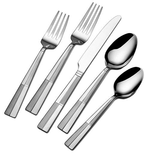 International Silver Arabesque Frost 20-Piece Flatware Set