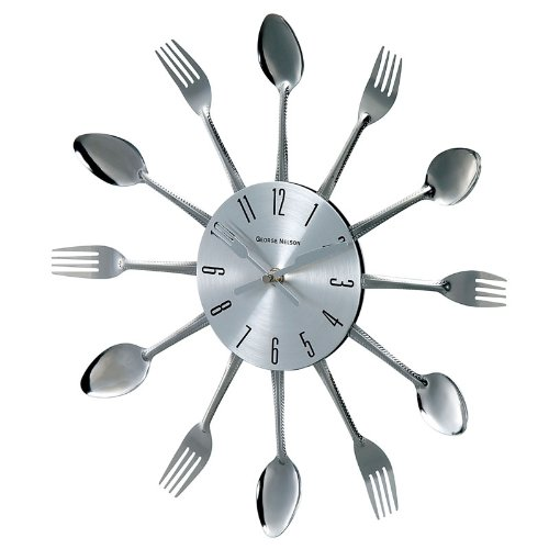 George Nelson Spoon Fork Clock