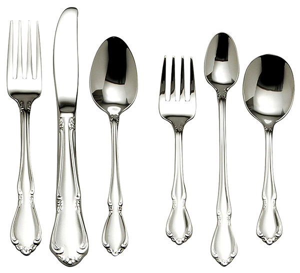 Oneida Chateau 6-Piece Progress Flatware Set