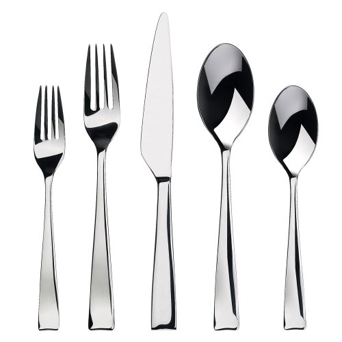 Gourmet Settings Strand 20-Piece Flatware Set