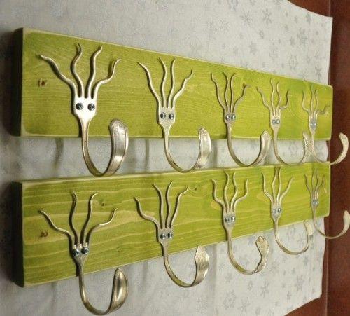 cutlery coat hooks