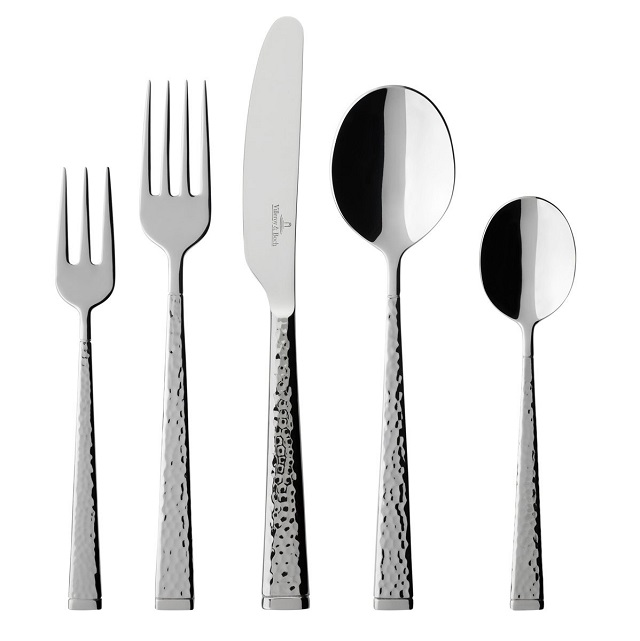 Villeroy & Boch Blacksmith 60-Piece Flatware