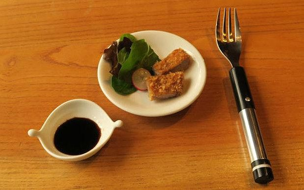 electric salt flavoured fork