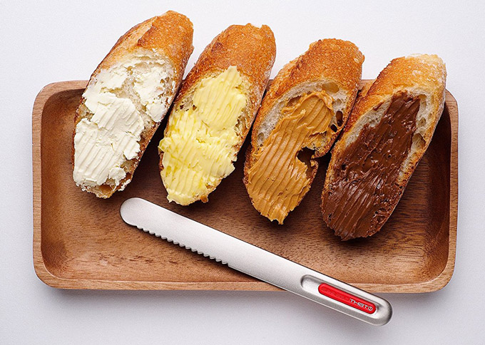 THAT Inventions Spread That Serrated Warming Butter Knife and Spreader