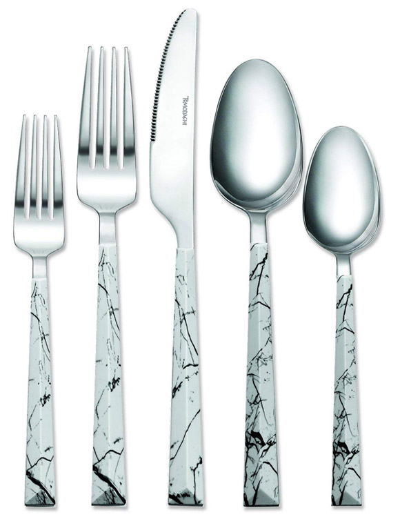 Tomodachi Dali Marble Dinner Set