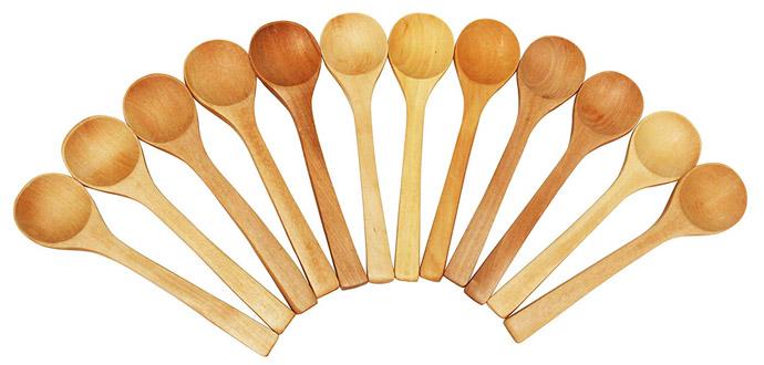 Wooden Salsa Spoons