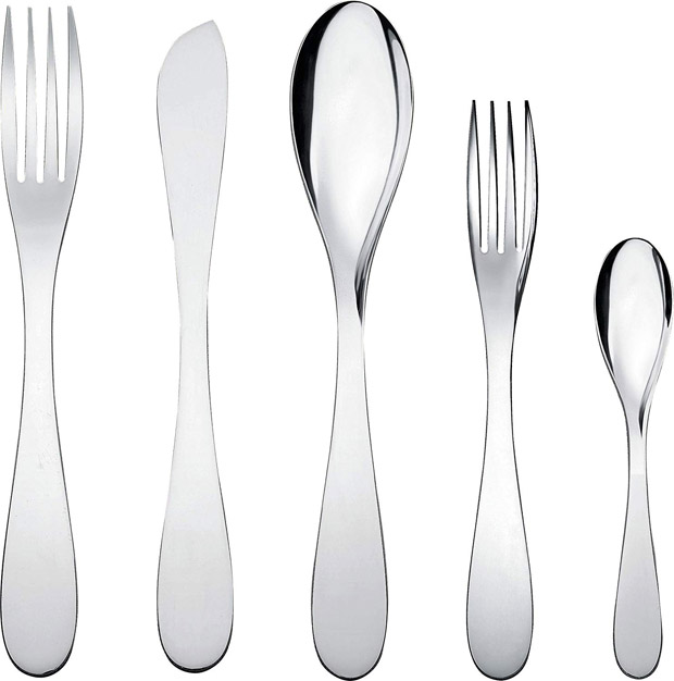 "Alessi ""Eat. It"" Flatware Set"