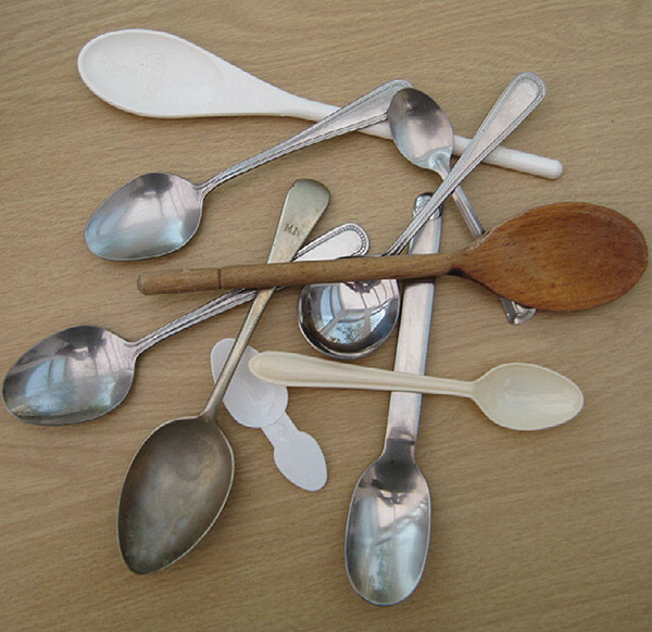 Wooden or Metal Spoon for Tasting