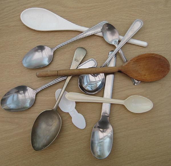 Wooden or Metal Spoon for Tasting