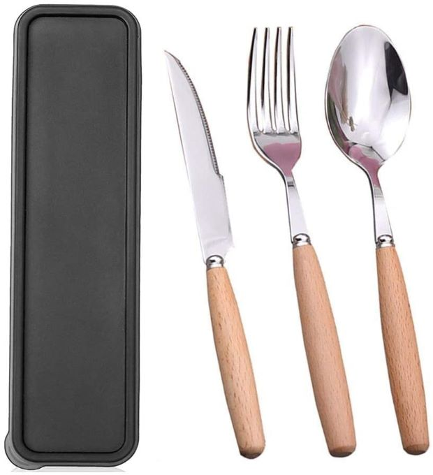 hicorfe Portable Utensils Set with Case