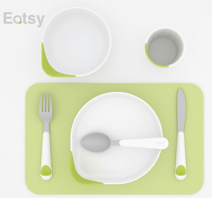 Eatsy Cutlery for the visually impaired