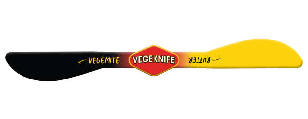 Vegemite toast knife