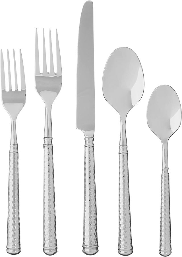 Fortessa Solitaire 18/10 Stainless Steel Hollow Handle Flatware Cutlery
