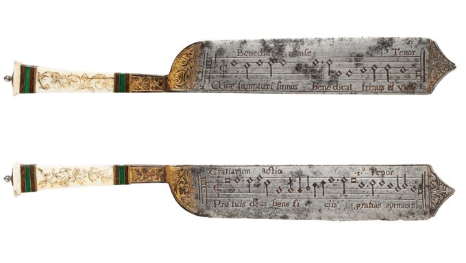 The Notation Knife - Musical Cutlery