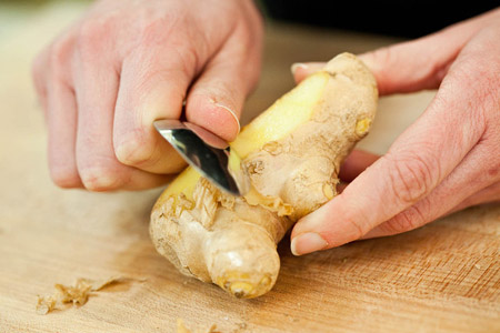 Image result for TAKE A PIECE OF GINGER, WASH PROPERLY AND PEEL